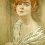 Ritratto di Soava Gallone, 1916 Portrait of actress Soava Gallone, 1916