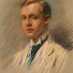 """L'inglese"", 1905, pastello (collezione privata) ""The English man"", 1905, pastel (private collection)"