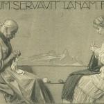 """""""Domum servativ, lanam fecit"""", 1915"""