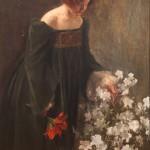 Donna che coglie i fiori, 1901. Roma, Istituto Catel
