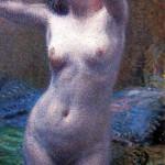 La modella, 1915. Palermo, Galleria d'Arte Moderna