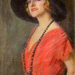 Ritratto di Pina Menichelli, 1920
