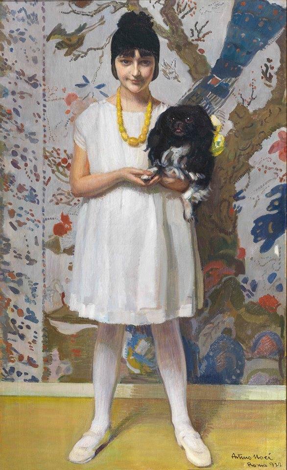 Arturo Noci, Ritratto di Marcella Rossellini, 1922